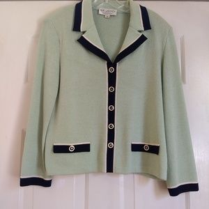St. John Collection by Marie Gray Knit Jacket